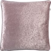 Dutch Decor Sierkussen Mick 45x45 cm violet