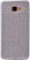 Teleplus Samsung Galaxy A810 2016 Silvery Custom Made Silicone Case Silver hoesje