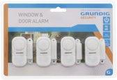 Grundig alarmsysteem - 4 delig - Beveiliging - Geluidssignaal - Inbraak preventie -  90DB
