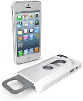 Opena flessenopener cover voor de iPhone 5 - wit