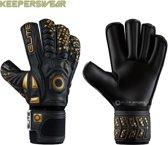 Elite sport   keepershandschoenen    black real maat 8