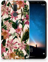 Huawei Mate 10 Lite Uniek TPU Hoesje Flowers