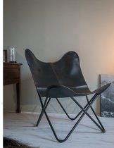Klassieke vlinderstoel zwart butterfly chair design stoel