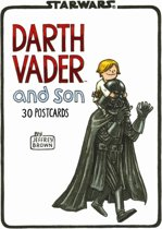 Brown, J: Darth Vader and Son Postcard Book