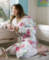 Funny Flower R7 Bathrobe Pink XS