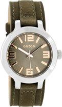 OOZOO Timepieces Bruin Horloge C8708