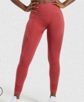 Power Sportlegging Dames High Waist – Rood