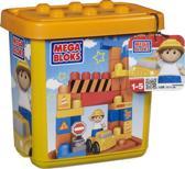 Mega Bloks First Builders Maxi Bouw Doos Klein