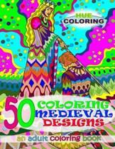 50 Coloring Medieval Designs