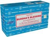 Wierook-Satya-Buddha's Blessing-Box-12 pakjes á 15 stokjes