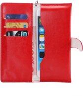 Wallet Tasje voor Smartphone, XXL Beschermhoesje, zwart , merk i12cover