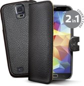 Celly Ambo Magnetic Folio case Samsung Galaxy S5 (Plus) / Neo