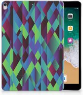 Apple iPad Pro 10.5 Tablethoesje Design Abstract Green Blue