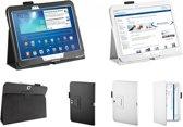 Samsung Galaxy Tab 4 10.1 Tablet Stand Case, Trendy Cover, Praktische Hoes, zwart , merk i12Cover