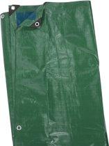 Kreator KRT660202 Dekzeil - 2 x 4 m - 120 gr/m² -blauw/groen