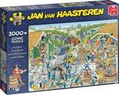 Jan van Haasteren De Wijnmakerij Legpuzzel 3000 Stukjes.