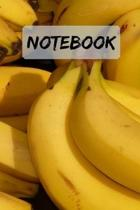 Notebook Cool Banana Notepad / Journal: 6x9'' 120 Page Blank lined Note book.