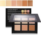 Contour Cream Kit Light - Foundation Highlight Contouring Creme Palette