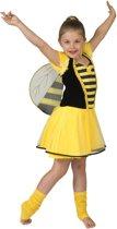 Verkleedpak bij meisje Bonnie de Bij 128 - Carnavalskleding