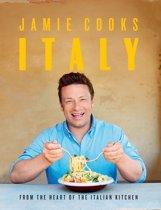 Boek cover Jamie cooks Italy  [Engelstalig] van Jamie Oliver (Hardcover)