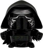 Bulbbotz Wekker Star Wars Kylo Ren 14 Cm Zwart