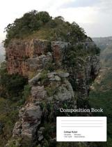 Gorge Rock Composition Notebook, College Ruled