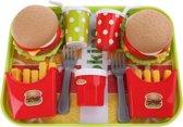 Toi-toys Eetset Fastfood 10-delig