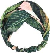 Haarband Bohemian Ibiza Roze/Groen - Bandana - one size