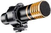 Walimex 18766 Digital camcorder microphone Bedraad Zwart microfoon