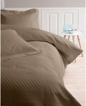 Sleeptime Bedsprei - Charlene - 260x250 - Taupe