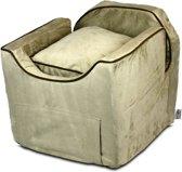 Snoozer Lookout - Autostoel - Autozitje voor honden - Medium 56 cm - Buckskin - met lade