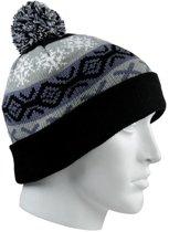 Bernardino Winter Pompon - Muts - Volwassenen - Unisex - One size - Zwart