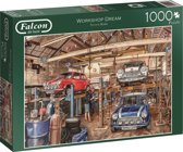 Falcon Workshop Dream - Puzzel - 1000 stukjes