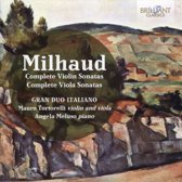 Milhaud: Complete Violin And Viola