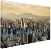 Sao Paulo Brazilie Canvas 60x40 cm - Foto print op Canvas schilderij (Wanddecoratie)