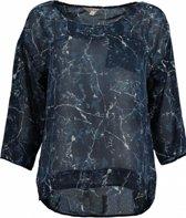 Garcia polyester blouse shirt 3/4 mouw Maat - XS
