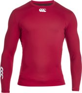 Canterbury Cold - Sportshirt - Heren - S - Rood