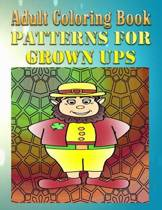 Adult Coloring Book Patterns for Grown Ups