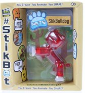 Goliath Stikbot Speelfiguur Pitbull Rood 6 Cm
