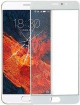 Let op type!! Voorste scherm buitenste glaslens voor Meizu Pro 6 Plus(White)
