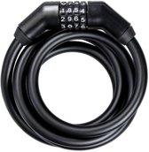 Trelock kabelslot spiraal SK code 360/180/13mm zwart