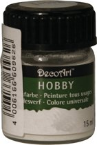 Hobby acrylverf wit 15 ml