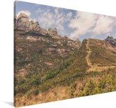 Omgeving van het Nationaal park Andringitra Canvas 120x80 cm - Foto print op Canvas schilderij (Wanddecoratie woonkamer / slaapkamer)