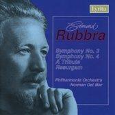 Symphonies No.3 & 4 Tribute/Overture Resurgam/Philharmonia Orchestra