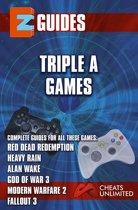 EZ Guides: Triple A Games: Red Dead Redemption / Alan Wake / Heavy Rain / Modern Warfare 2 / Fallout 3: Red Dead Redemption / Alan Wake / Heavy Rain / Modern Warfare 2 / Fallout 3