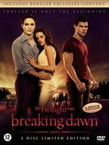 DVD cover van Twilight Saga, The: Breaking Dawn - Part 1 (Limited Edition Dvd)