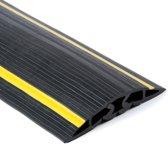 Rubbermagazijn Safety - Kabelgoot 5 kanalen 102x17mm Lengte 9 meter