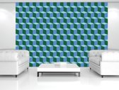 Blue | Green Photomural, wallcovering