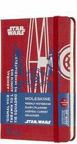 Moleskine 18 maanden agenda 2019-2020 - Star Wars - Wekelijks - Pocket (9x14 cm) - Tie fighter - Harde kaft