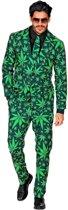 Hippie Kostuum | Cannabis Nederwiet | Man | XL | Carnaval kostuum | Verkleedkleding